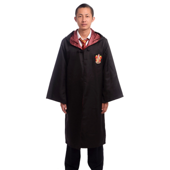 Adult Harry Potter Magic Robe Cloak Deluxe Robe Size-XXL(Gryffindor) Price Philippines