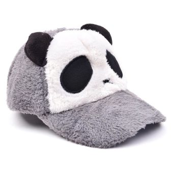 Adult Panda Baseball Caps (Grey) Price Philippines