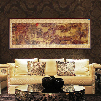 Adult piece Qingming River Map puzzle Landscape Oil Painting