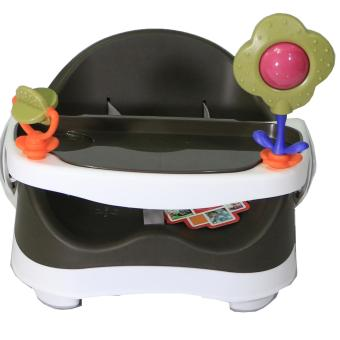Akeeva Compact Booster Seat (Brown) - 2