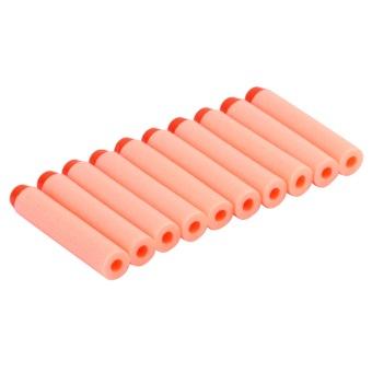 Allwin 10 pcs Eva Soft Bullets Darts For Nerf Blaster Toy Gun Bullets Flexible Orange