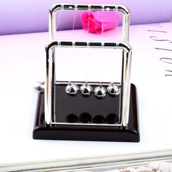 Allwin Newton's Cradle Fun Steel Balance Ball Physics Science Desk Toy Accessory Gift