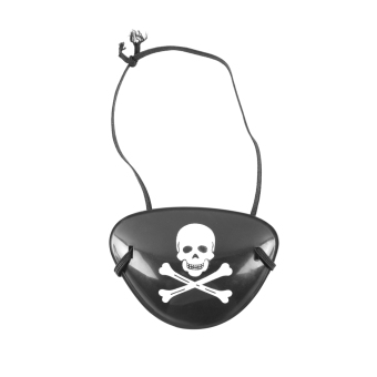 Allwin Pirate Eye Patch Skull Crossbone Halloween Party Favor Bag Costume Kids Toy - picture 2