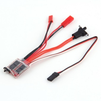 Allwin RC ESC 20A Brush Motor Speed Controller w/ Brake for RC Car Boat Tank New - picture 2