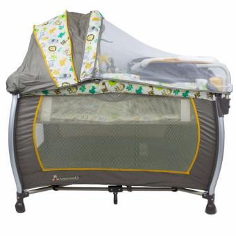 Amoroso Nursery Center Baby Crib and Playpen - 2