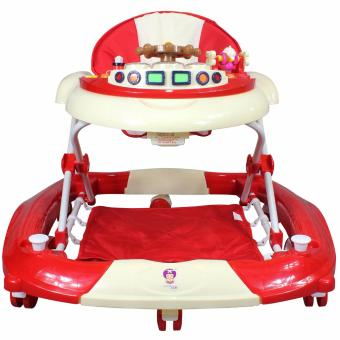 Anchorship 2 in 1 Baby Walker and Rocker 228QR (Red)