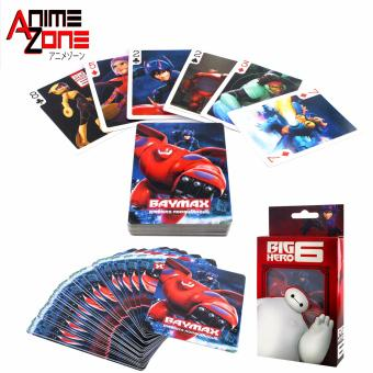 ANIME ZONE Big Hero 6 Baymax Bridge Poker Blackjack SolitaireCollectible Anime Playing Cards