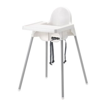 Antilop Highchair with Tray (White)