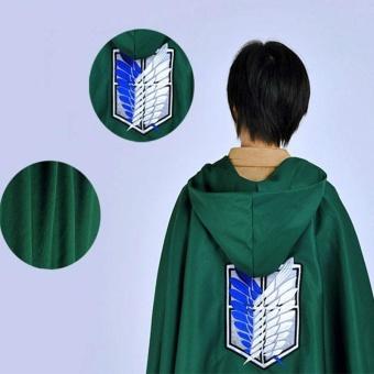 Attack on Titan Anime Shingeki no Kyojin Cloak Clothes COS Cosplay Cloth - intl - 2