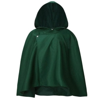 Attack on Titan Japanese Anime Shingeki no Kyojin Cloak Cape COS Cosplay - intl