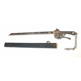 ATTACK ON TITANS (MINI-METAL) SWORD - 4