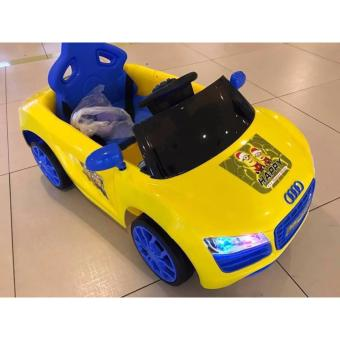 AUDI STYLE RIDE ON CAR-YELLOW Price Philippines