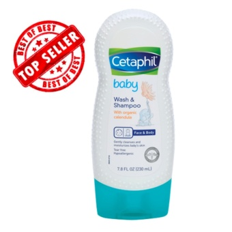Authentic Cetaphil Baby Wash and Shampoo with Organic Calendula