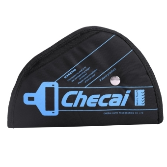 Auto Car Seat Belt Adjuster Safety SeatBelt Adjustment for Kids Child Baby (Black) - Intl