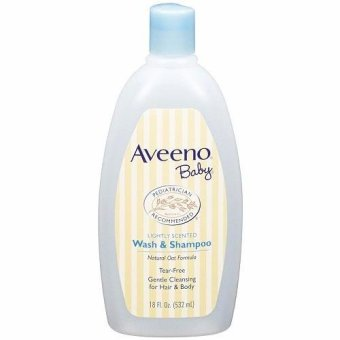 Aveeno Baby Wash & Shampoo Lightly Scented 532ML
