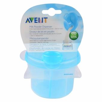 AVENT MILK DISPENSER BPA FREE SNACK CUP ( BLUE ) - 4