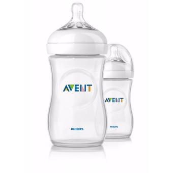 Avent Natural 9oz (260ml) Twin pack - Clear Price Philippines