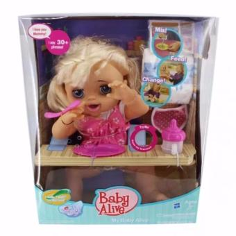 Baby Alive Hasbro talking doll feed, poop and change diaper Price Philippines