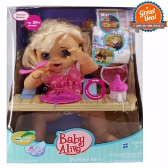 Baby Alive talking doll feed, poop and change diaper Price Philippines
