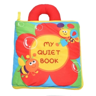 Baby & Toddler Early Learning Soft Cloth Book(My Quiet Book)