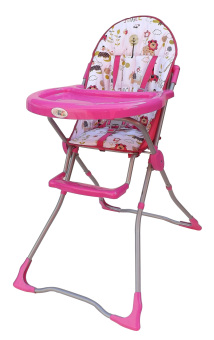 Baby Angel High Chair (Pink Animal)
