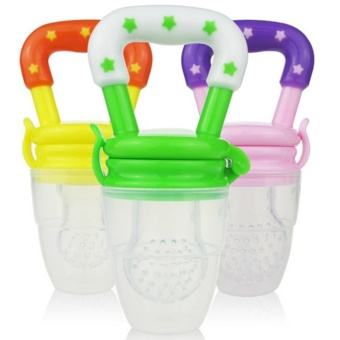 Baby Bite pacifier and music baby food supplement for fruits and vegetable Baby Feeder - intl Price Philippines