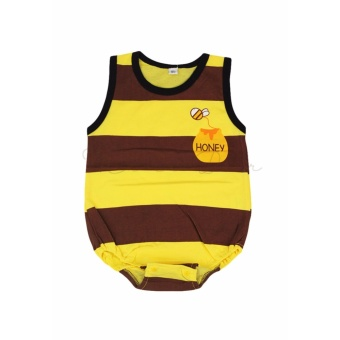 Baby Bodysuit Infant Newborn Sleeveless Cute Babysuit Jumpsuit BabyRomper Birthday Costume Girl Boy Bee
