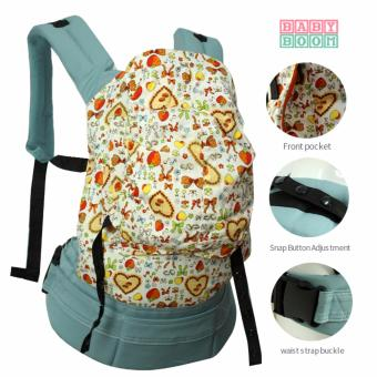 Baby Boom Multifunctional Kangaroo Hipseat Baby Carrier- 09