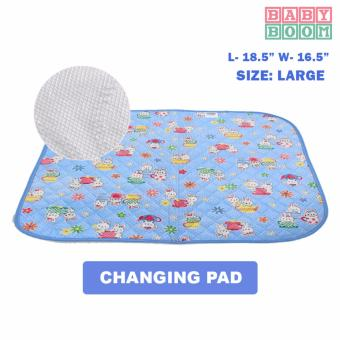 BABY BOOM Waterproof Baby Mattress Sheet and Changing Pads- Labby (L)