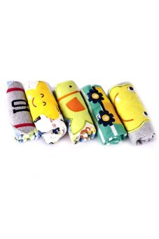 Baby Boy Shorts Set of 5 (Multicolor) - picture 2