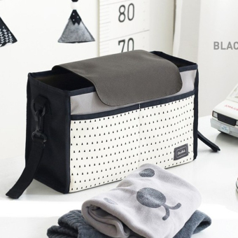 Baby car Portable hanging bag stroller Baby Bag(Black) - intl - 4