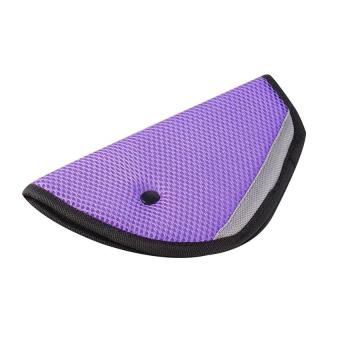 Baby Car Seat Belt Adjuster Safety SeatBelt Adjustment for KidsChild Baby (Violet) - intl