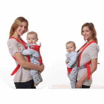 Baby Carrier sling wrap Rider Infant Comfort backpack (Red) - 5
