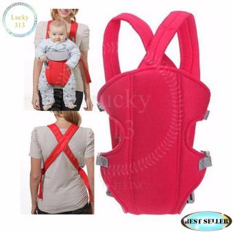 Baby Carrier Sling Wrap Rider Infant Comfort Backpack Red