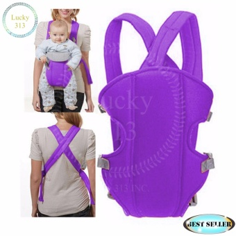 Baby Carrier Sling Wrap Rider Infant Comfort Backpack Violet