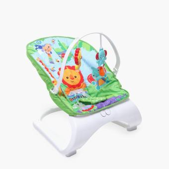 Baby Company Lion Bouncer (Green)