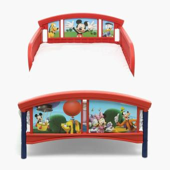 Baby Company Mickey Mouse Toddler Bed (Red/Blue) - 2