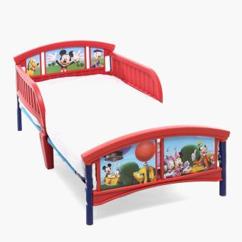 Baby Company Mickey Mouse Toddler Bed (Red/Blue)