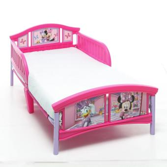 Baby Company Minnie Mouse Toddler Bed (Pink)