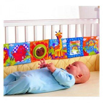 Baby Crib Toys Colorful Cloth Book - intl
