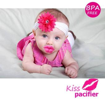 BABY DREAM KISS FUNNY PACIFIER (PINK)