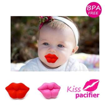 BABY DREAM KISS FUNNY PACIFIER (RED) - 3