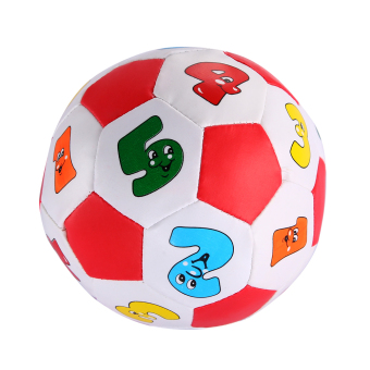 Baby Early Education Football Toys Alphabet Number Learning Ringing Ball - picture 2
