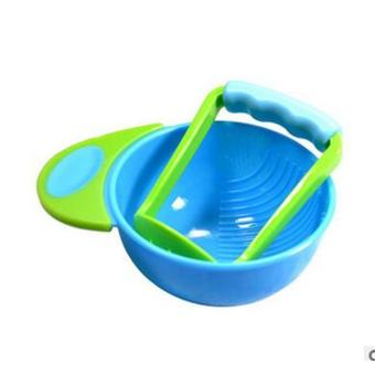 Baby Food Fruits Supplement Grinding Tool Grinder Bowl Blue Price Philippines