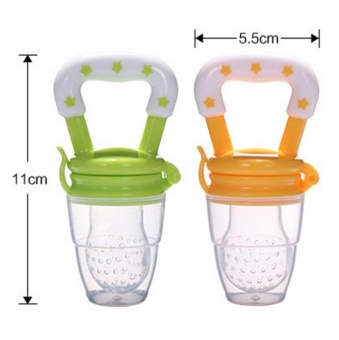 Baby Fresh Fruit And Vegetable Feeder Soothe Molar Teeth withAdvanced Soft Natural BPA Free Tree Teethers Gift Set Make YourHappy Baby Smile Now Silicone Teat Pink M - intl - 3