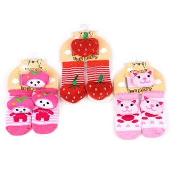 Baby Girl Foot and Wrist Rattle set of 3 Price Philippines
