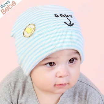 Baby Girls Boys Hello Cute Hats Newborn Infant Caps - intl