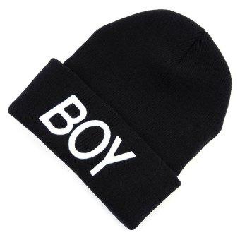 Baby Girls Boys Knitted Woolen Skull Hats Toddler Ski Hats BOYBeanie Caps for Children Kids Baby - intl - 3