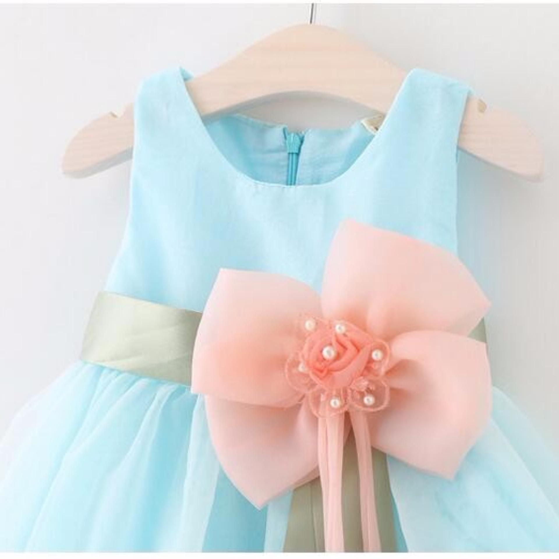 Philippines | Baby Girls Dress Big Bowknot Infant Party Dress For ...