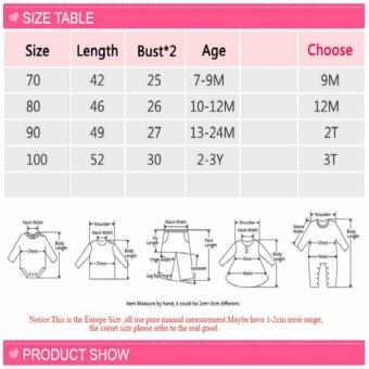 Baby Girls Dress Summer Infant Party Brithday Dress Formal TutuDresses (Pink) - intl - 3